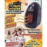 Starlyf® Fast Heater - portable et puissant mini Chauffage Avec Technologie Thermo en céramique pour la prise - Produit original en TV Publicité