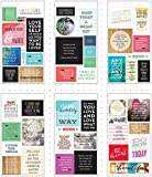 Me & My Big Ideas Stickers Pocket Pages Clear 6 Sheets-Love Yourself