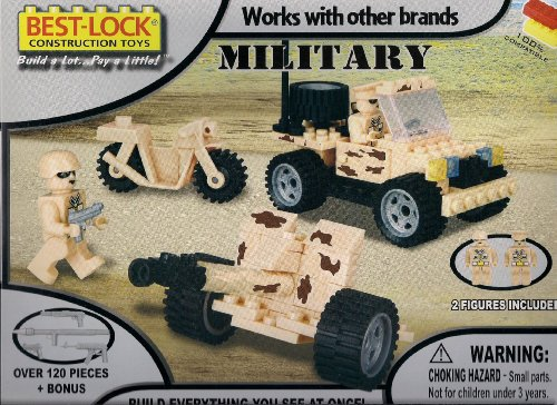 Best-Lock Construction Toys - Military Set