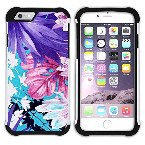 Graphic4You Hawaiisch Hawaii Postkarte Hart + Weiche Kratzfeste Hülle Case Schale Tasche Schutzhülle für Apple iPhone 6 Plus / 6S Plus Design #8