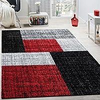 Patchwork Lalee 347162871 Moderner Designer Teppich Muster Neu //... Rot