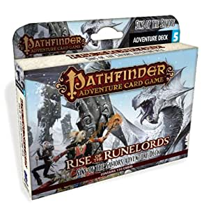 """Pathfinder FEB142539 """"Sins of The Saviors Rise of The Rune Lords Deck 5 Adventure"""" Card Game"""