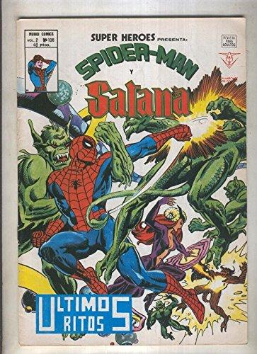 Super Heroes volumen 2 numero 108: Spiderman y Satana