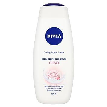 nivea caring shower gel cream rich moisture soft 500 ml pack of 6 amazoncouk beauty