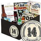 14 Jubiläum Geschenk | Männer Box | Männer Set | 14. Geburtstagsgeschenk
