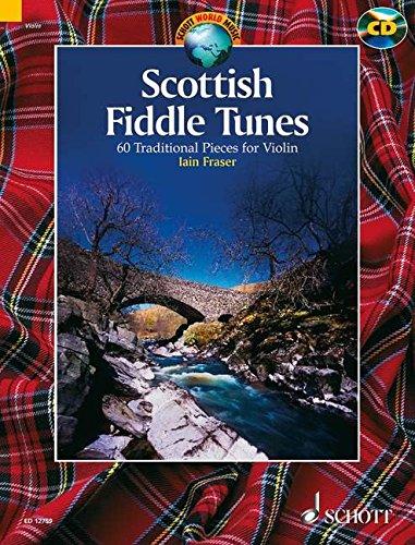 Scottish fiddle tunes +CD - Vl solo