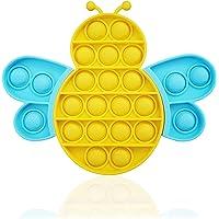 Young & Ming Pincez Sensorielle Jouet Push and Bubble Sensory Fidget Toy Silicone Décompressez Le Jouet pour Adultes…