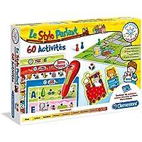 Clementoni - 52011-ADN - Mon Stylo Parlant - 60 activités-Jeu éducatif