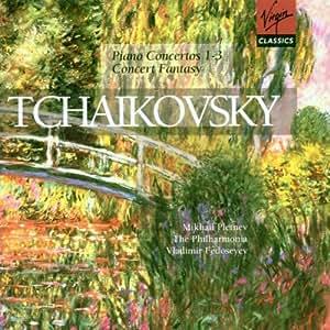 Tchaikovsky: Piano Concerto 1-3, Concert Fantasy [Import anglais]