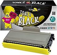Yellow Yeti Compatibele TN2120 TN2110 (2600 pagina's) Toner Cartridge voor Gebruik met Brother HL-2140 HL-