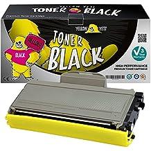 Yellow Yeti TN2120 TN2110 (2600 páginas) Tóner compatible para Brother HL-2140 HL-2150 HL-2170 MFC-7320 MFC-7340 MFC-7440 MFC-7840 DCP-7030 DCP-7040 DCP-7045 [3 años de garantía]