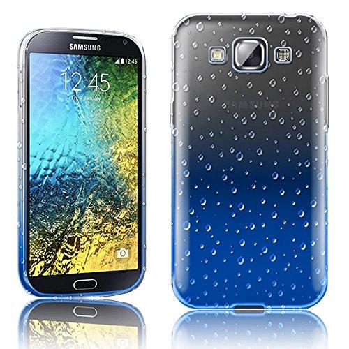 Vandot 2In1Set Samsung Galaxy A3Versione 2014Flip in Silicone TPU trasparente libro, esclusiva custodia con protezione frontale e posteriore Costruito in metallo touch screen Protector-Black + Stylus Pen