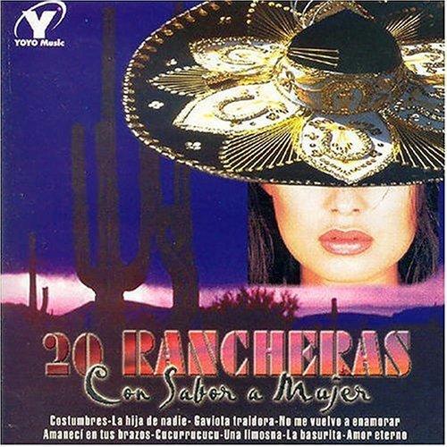 20 Rancheras Con Sabor a Mujer by 20 Rancheras Con Sabor a Mujer