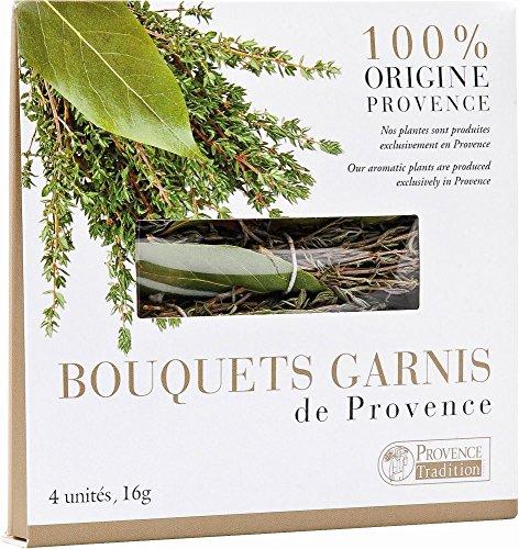 Bouquets garnis, 4 Stück Kräutersträußchen -