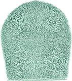 GRUND b2770-000004167 Lex WC-Deckelbezug Badteppich, Kunstfaser, mintgrün, 47 x 50 x 3,2 cm