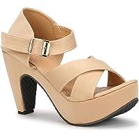 Denill Womens And Girls Brown Fashion Sandal