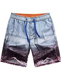 Pantalones de Natación Bañador de Surf Playa Verano Vacaciones Traje de Baño para Hombre