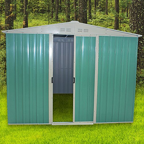 tuff-concepts-8-x-6ft-metal-garden-apex-roof-storage-shed-with-free-ground-anchoring-kit