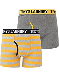Tokyo Laundry Mens Boxer Shorts/Trunks HAVERFIELD' (2-Pack)