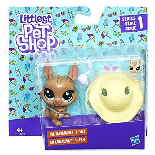 Littlest Pet Shop Littles Pep Parejas con Accesorios (Hasbro B9358EU4)