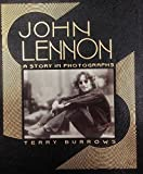 John Lennon: A Story in Photographs. Collector Edition. Bound in Genuine Leather