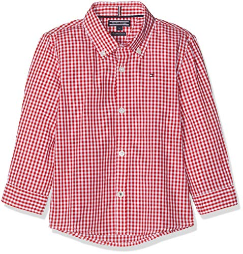 Tommy Hilfiger Boys Gingham Shirt L/s Blusa