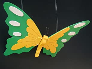 Big butterfly mobile (22'' wing span)