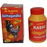 TEJASWINI Kashi Tulsi Ashtagandha Kumkum Tilak Pure Chandan Powder for God Poojan 125 Gram, (Set of 4)