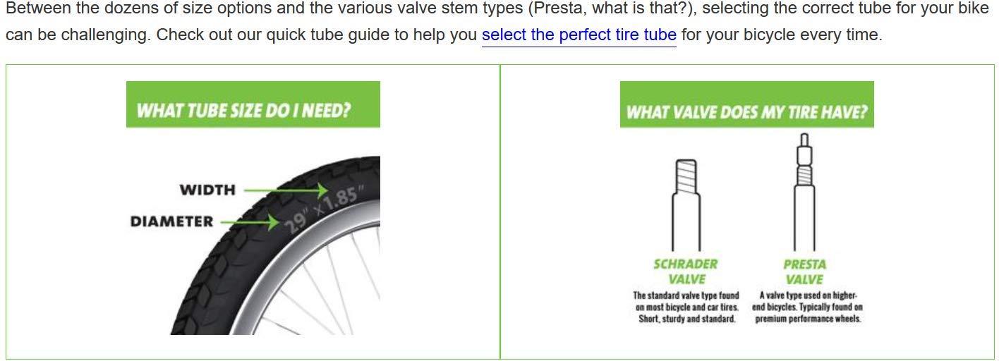 Slime Smart Tube - Camera d'aria autoriparante con valvola Presta, 26 x 1,75 - 2,125'', colore: Nero