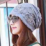 Best Four Seasons Air Conditioners - ERLINGSAN-MZ Hat women's Four Seasons hat bow scarf Review