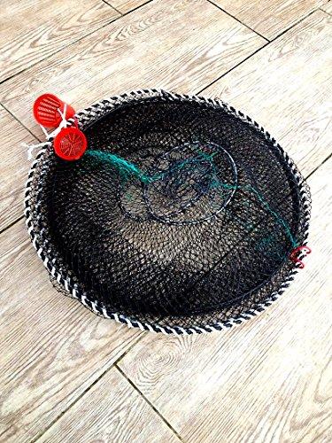 Nr.53 Fischreuse mit Maschenweite 15 mm, Fischreuse, Krebsreuse, Aalreuse, Köderfischreuse 50x120 cm