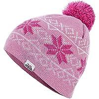 Trespass Childrens Unisex Fosco Knitted Pom Pom Hat (8/10 Years) (Blossom)