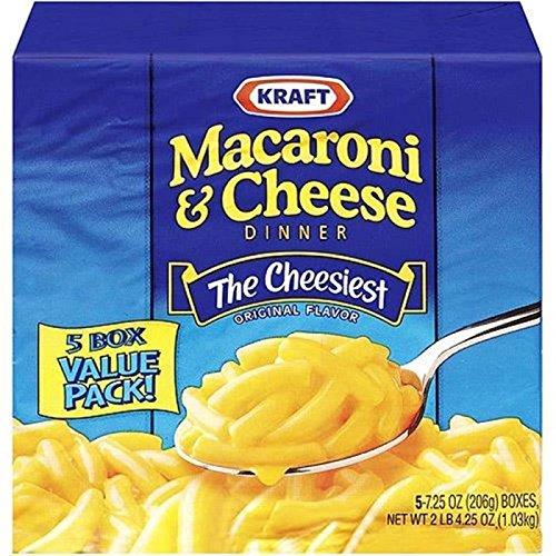 Kraft Macaroni and Cheese - 5er Pack (5x206g)