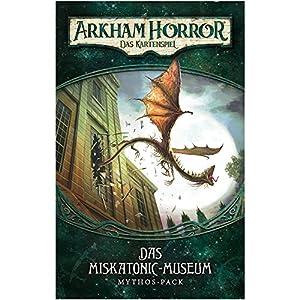 Fantasy Flight Games ffgd1102Arkham Horror: LCG-El Museo de Miska Tonic Mythos de Pack (1) de Dunwich Alemán