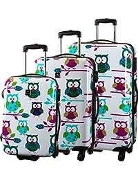 Saxoline Owls Trolley-Set 3tlg 01 owls