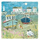Artistic Greeting Card (OH5814) - Blank/Birthday - The Harbour - Seaside Charm Range