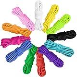 Paracord koord 550 paracord touwen, 12 kleuren paracord armband, 10 voet, paracord bandenset voor doe-het-zelf armbanden, sle