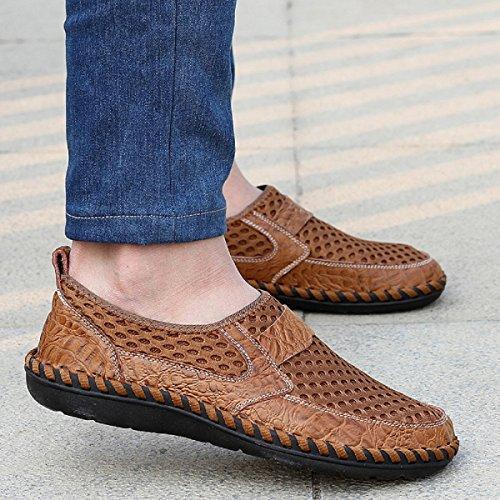 Neoker Zapatos De Buceo Scoglio Zapatos De Baño Hombres Mar Playa Elástico Antideslizante Súper Ligero Zapatos De Secado Rápido 38-44 Marrón