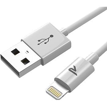 Rampow 01–Connettore Ultra Compatto per Apple Iphone, Colore: Bianco