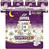 """Body Fit Guierang Sanitary Napkins Over-Night 13"""" 60 Count"""