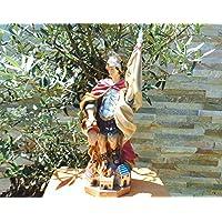 Grande ÖLBAUM–PREMIUM dipinta a mano–statuetta Santa, con