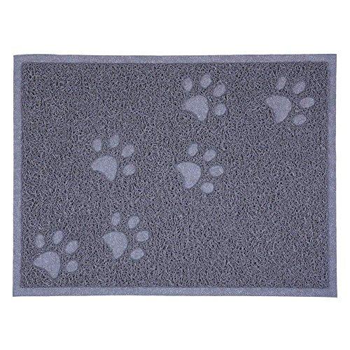 Cloud Herz Fressnapf-Matte für Hunde und Katzen, Wasserdicht Rutschfeste Futternapf-Matte Napfunterlage Pet Katzenstreu Trey Matte -