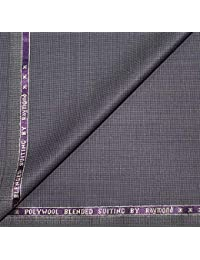 19a605ad2 Raymond Soft 35% Merino Wool Purple Unstitched Suit Fabric - 3.75 metres