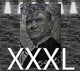 Premium Kunstdruck Leinwandbild - Kemal Atatürk auf Leinwand - aufgespannt auf 2cm Keilrahmen, aus Deutscher Herstellung, 160x105cm, Größe XXXL