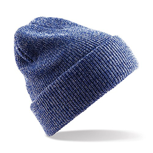 Beechfield - Heritage beanie - Heather Royal - One Size EU / UK (Womens Heritage Heather)