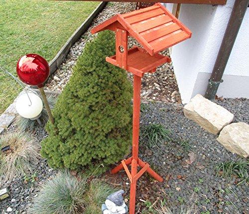 Vogelhaus BIRD OASIS Vogelvilla Futterhaus Vogelhäuschen mit Ständer Vogel Holz - 3