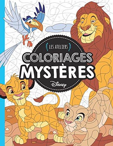 Animaux, Coloriages Mystères, ATELIERS DISNEY (HJD ATELIERS)