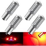 KaiDengZhe Rouge 1156 BAU15S PY21W 5630 33SMD Ampoules LED de Voiture 900LM Super Lumineux Feu de Freinage Arrière Feux de Br