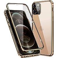 Custodia per iPhone 12 Pro Max Magnetica Cover,360 gradi Full body Antiurto Case [con Protezione per Obiettivo Della…