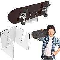 Hifuture - Supporto da parete,Supporto da parete per skateboard, Supporto da parete in acrilico, Supporto da parete per…